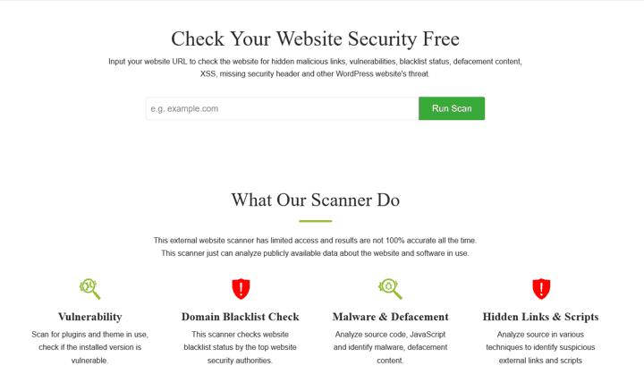 securewp security scanner